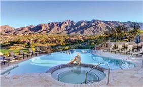 Catalina Pool at Hacienda Del Sol Guest Ranch Resort