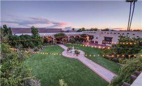 Inner Courtyard at Hacienda Del Sol Guest Ranch Resort