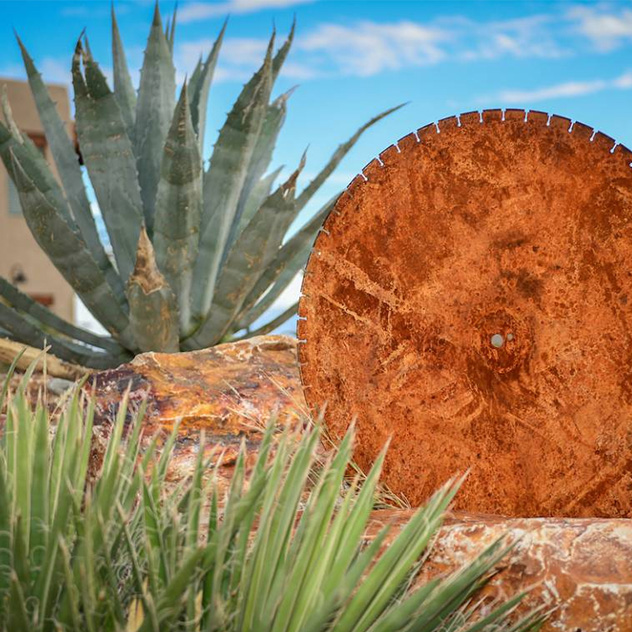 Art and Sculpture at Hacienda Del Sol Guest Ranch Resort, Tucson