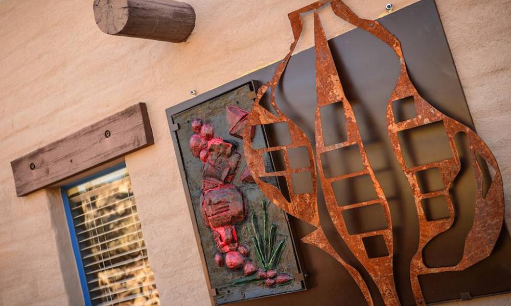 Art Sculpture at Hacienda Del Sol Guest Ranch Resort, Tucson