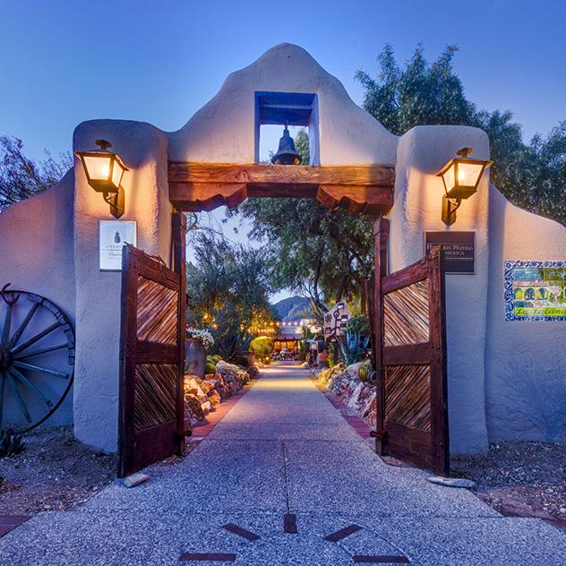 Intro of Location Hacienda Del Sol Guest Ranch Resort, Tucson
