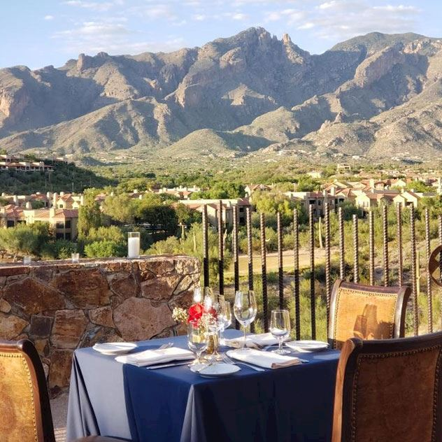 Intro of Private Dining Thank at Hacienda Del Sol Guest Ranch Resort, Tucson