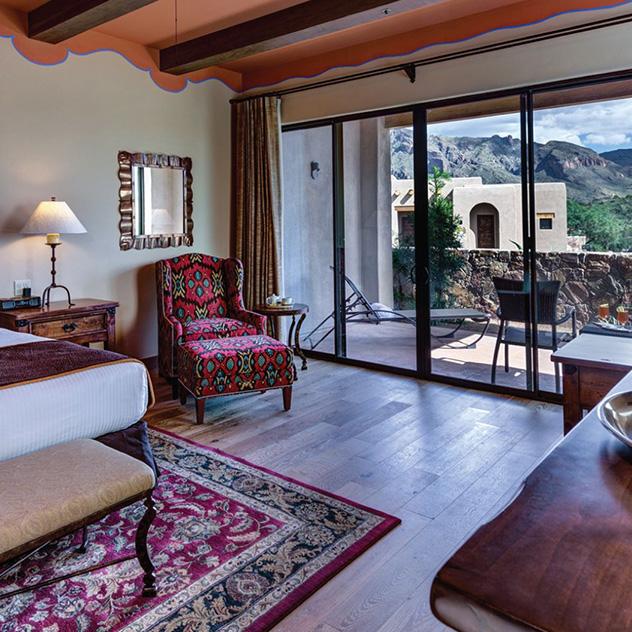 Catalina Room View at Hacienda Del Sol Guest Ranch Resort, Tucson