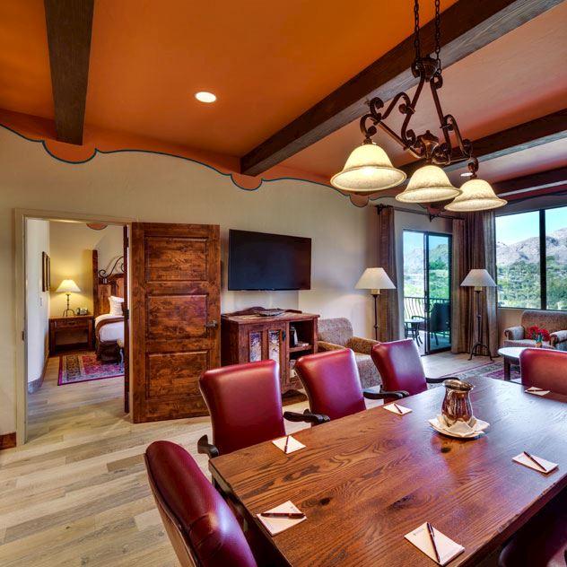 Catalina Suite at Hacienda Del Sol Guest Ranch Resort, Tucson
