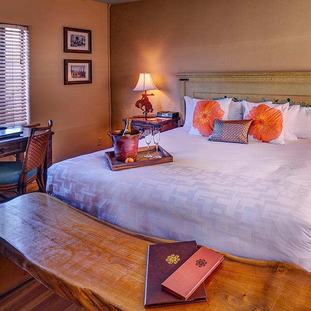 Historic Room View at Hacienda Del Sol Guest Ranch Resort, Tucson