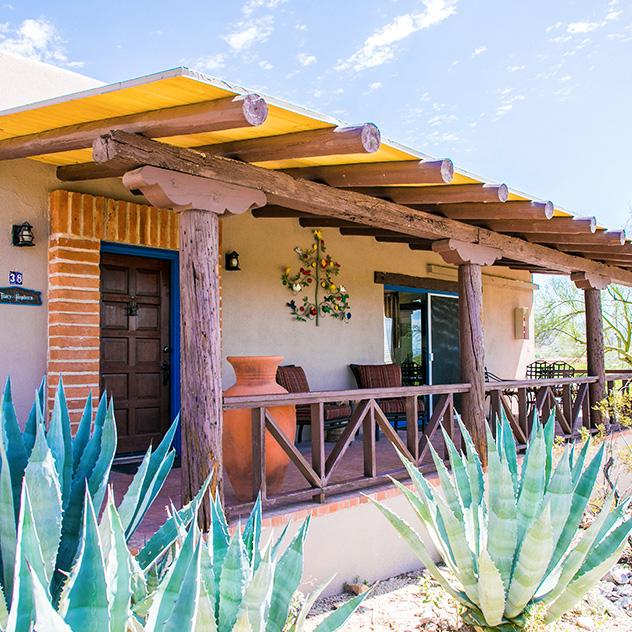 Tracy Hepburn Casita Grande at Hacienda Del Sol Guest Ranch Resort, Tucson