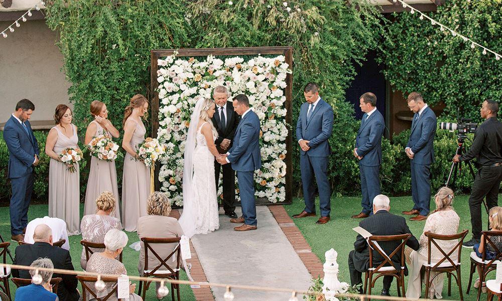 Bride at Hacienda Del Sol Guest Ranch Resort, Tucson