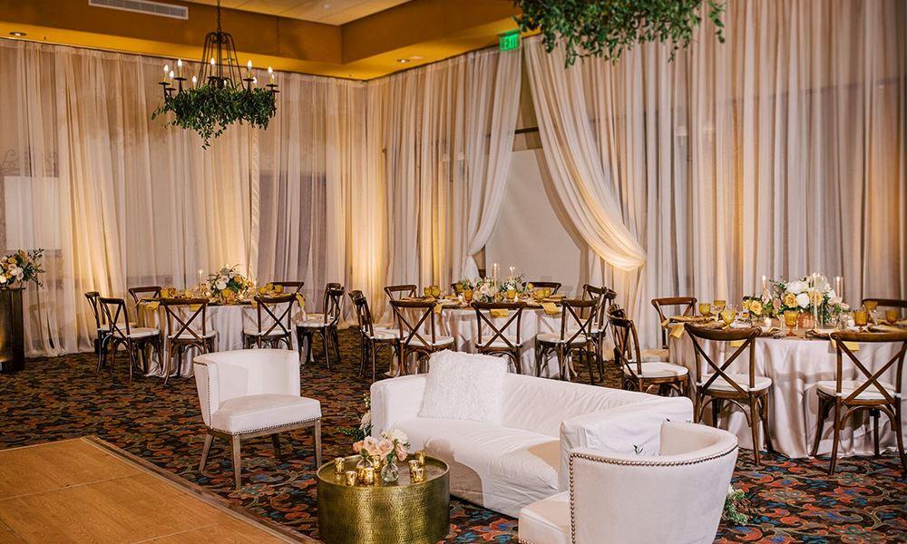 Groom Bride Entry at Hacienda Del Sol Guest Ranch Resort, Tucson